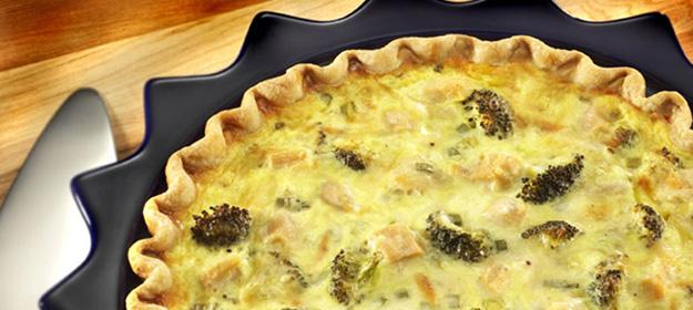 Быстрый пирог с иваси и сыром
