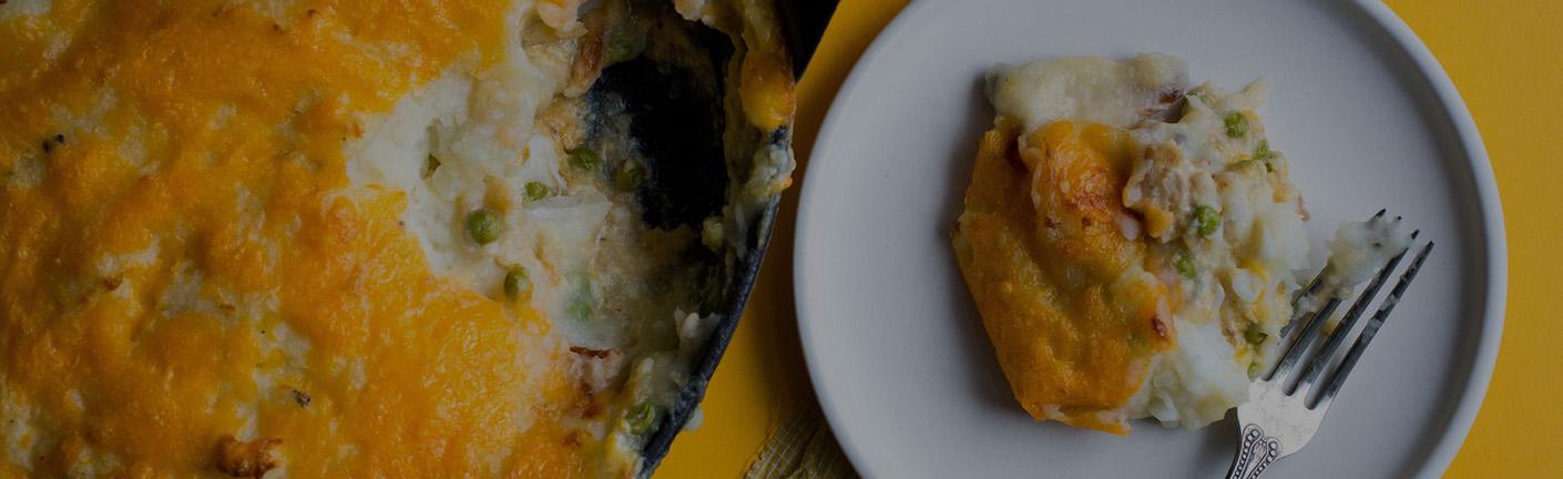 Картофельная запеканка с иваси