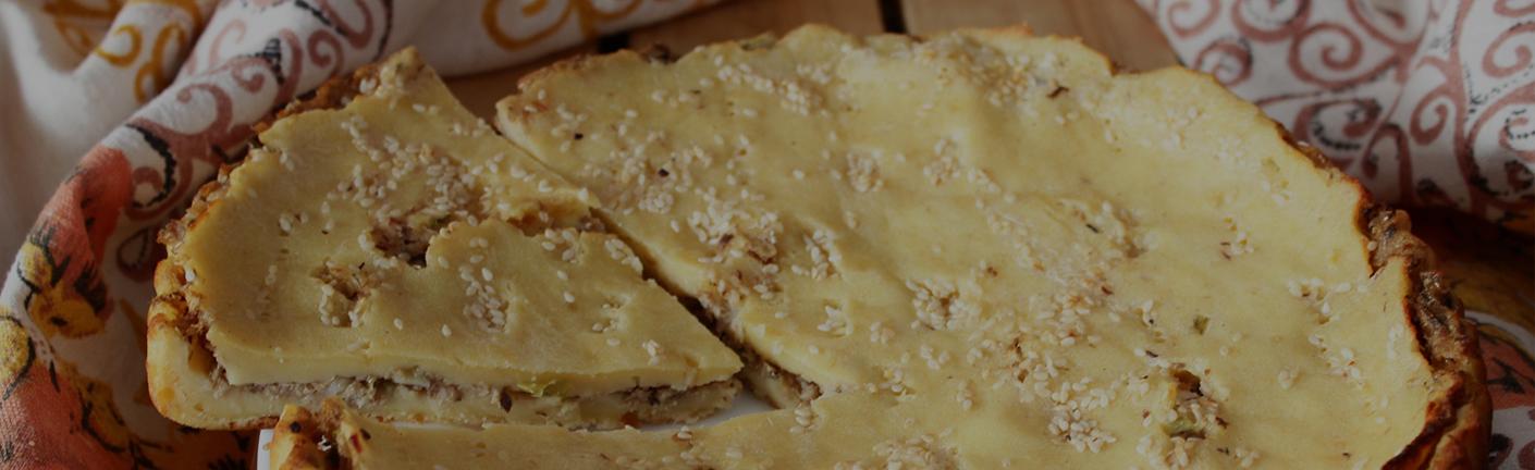 Пирог с иваси на кефире