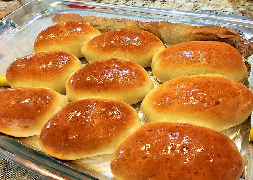Пирожки с иваси в духовке