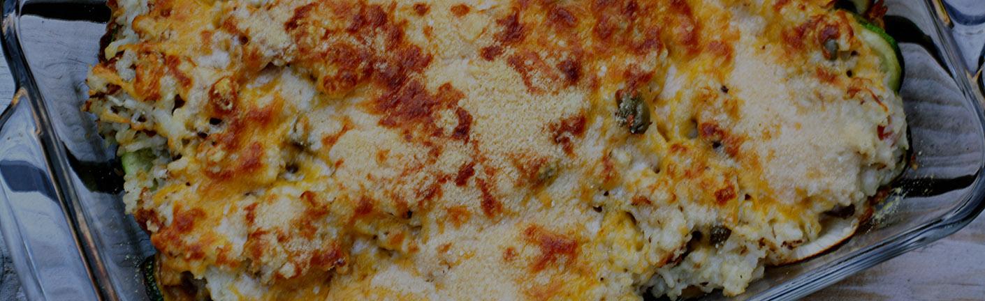 Рисовая запеканка с иваси