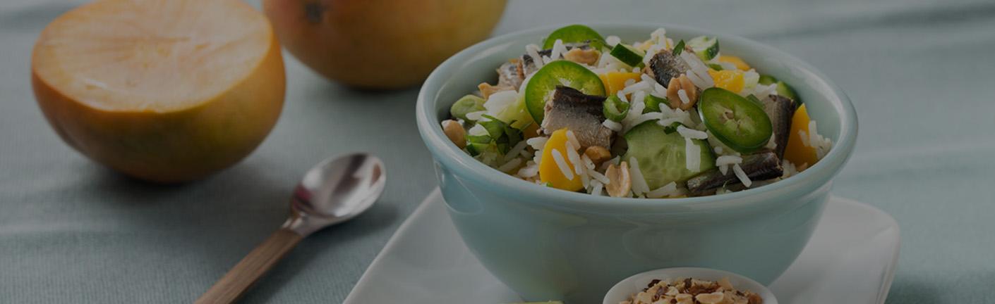 Салат с иваси по-тайски